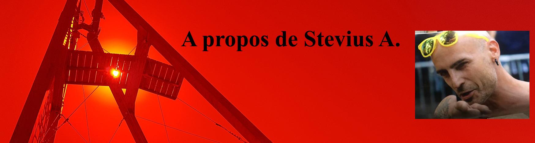 Bannière de A propos de Stevius A, biographie